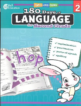180 Days of Language for Second Grade (Practice, Assess, Diagnose)