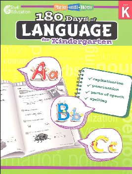 180 Days of Language for Kindergarten (Practice, Assess, Diagnose)