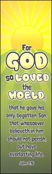 For God So Loved the World Bookmark