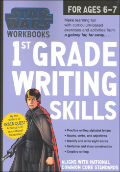 Star Wars Workbook: 1st Grade Writing Skills