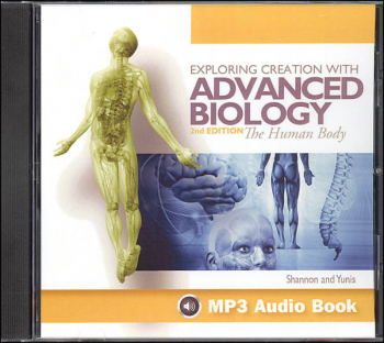 Advanced Biology: Human Body 2nd Edition MP3 Audio CD