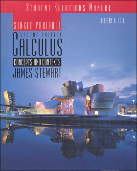 Student Solutions Manual for Stewart's Single Variable Calculus (Used)