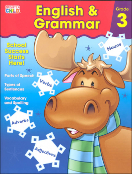English & Grammar Grade 3 Workbook (Brighter Child)