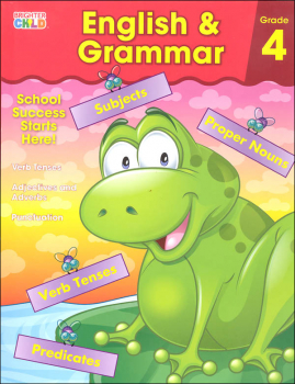 English & Grammar Grade 4 Workbook (Brighter Child)