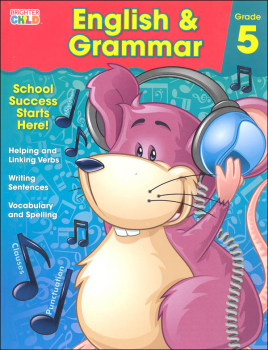 English & Grammar Grade 5 Workbook (Brighter Child)