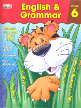 English & Grammar Grade 6 Workbook (Brighter Child)
