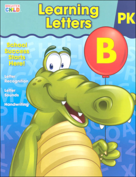 Learning Letters Prekindergarten Workbook (Brighter Child)