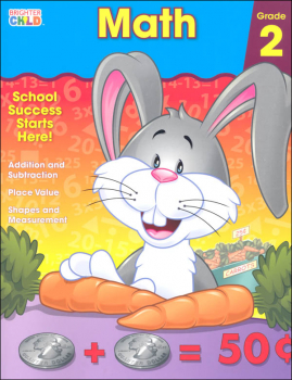 Math Grade 2 Workbook (Brighter Child)