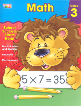 Math Grade 3 Workbook (Brighter Child)