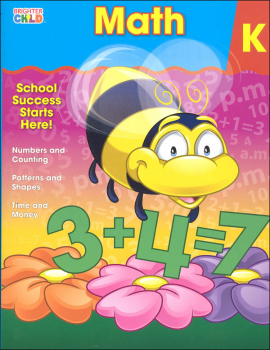 Math Kindergarten Workbook (Brighter Child)