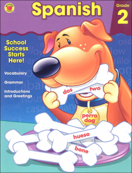 Spanish Grade 2 Workbook (Brighter Child)