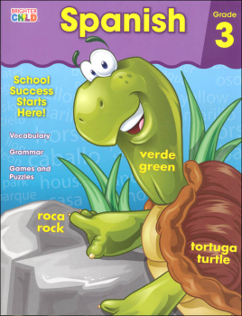 Spanish Grade 3 Workbook (Brighter Child)