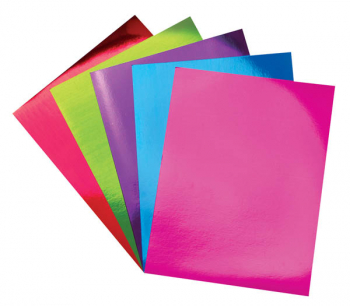 "Mirror Boards - Multi-Color (8.5"" x 11"") 5 pieces"
