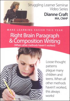 Right Brain Paragraph & Composition Writing DVD