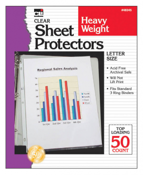 Heavyweight Sheet Protectors - Box of 50