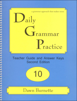 Daily Grammar Practice Teacher Guide Grade 10