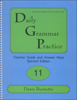 Daily Grammar Practice Teacher Guide Grade 11