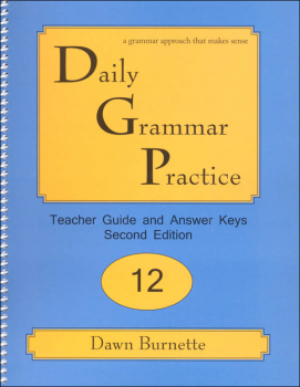 Daily Grammar Practice Teacher Guide Grade 12