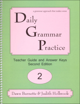 Daily Grammar Practice Teacher Guide Grade 2