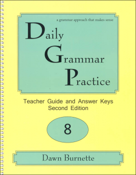 Daily Grammar Practice Teacher Guide Grade 8