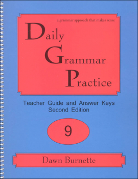 Daily Grammar Practice Teacher Guide Grade 9