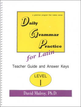 Daily Latin Grammar Practice Level 1 Teacher Guide