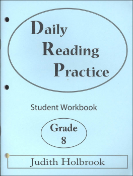 Daily Reading Practice Student Workbook Grade 8
