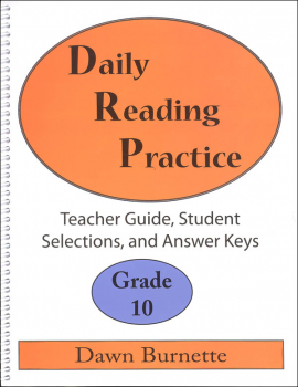 Daily Reading Practice Teacher Guide Grade 10