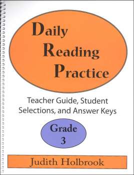 Daily Reading Practice Teacher Guide Grade 3