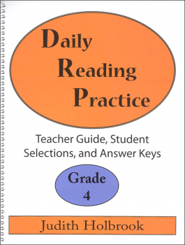 Daily Reading Practice Teacher Guide Grade 4