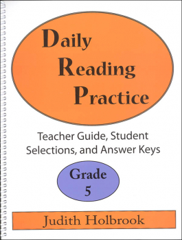 Daily Reading Practice Teacher Guide Grade 5