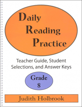 Daily Reading Practice Teacher Guide Grade 8