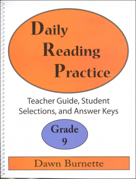 Daily Reading Practice Teacher Guide Grade 9