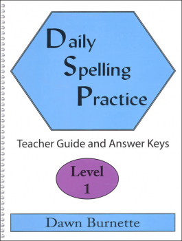 Daily Spelling Practice Level 1 Teacher Guide