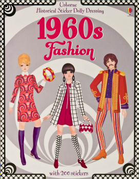 Historical Sticker Dolly Dressing - 1960's Fashion