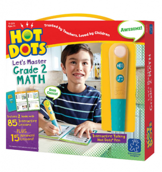 Hot Dots Let's Master Math Grade 2