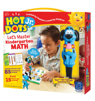 Hot Dots Let's Master Math Kindergarten