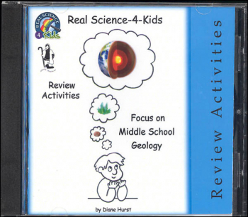 Real Science-4-Kids Review Activities for Focus On Middle School Geology CD