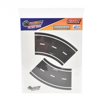 Classic Road Series Sticker Sheet - Broad Curves 1:128 Scale