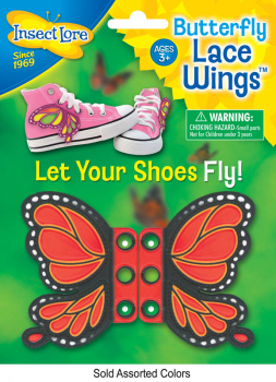 Butterfly Shoe Lace Wings