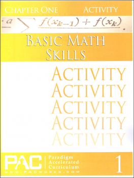 Basic Math Skills: Chapter 1 Activities