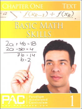 Basic Math Skills: Chapter 1 Text