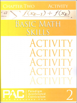 Basic Math Skills: Chapter 2 Activities