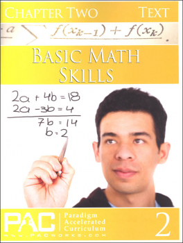 Basic Math Skills: Chapter 2 Text