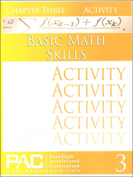 Basic Math Skills: Chapter 3 Activities