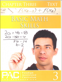 Basic Math Skills: Chapter 3 Text