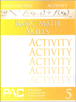 Basic Math Skills: Chapter 5 Activities