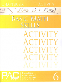 Basic Math Skills: Chapter 6 Activities