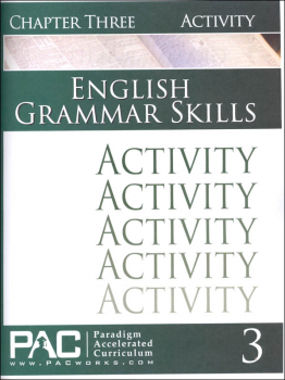 English Grammar Skills: Chapter 3 Activities