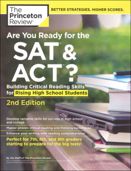 Are You Ready for the SAT & ACT? 2nd Edition